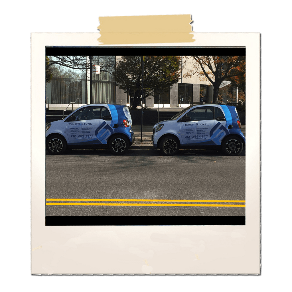fisher stone branded smart cars